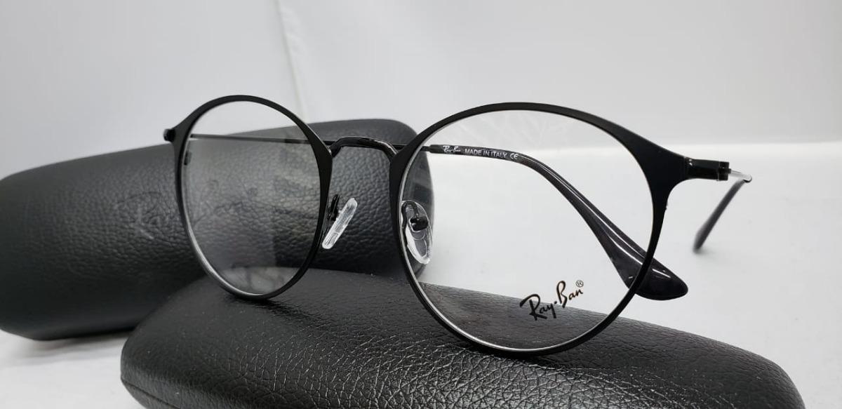 ca52d5fb77 monturas gafas marcos rayban redondas negras hombre mujer. Cargando zoom.