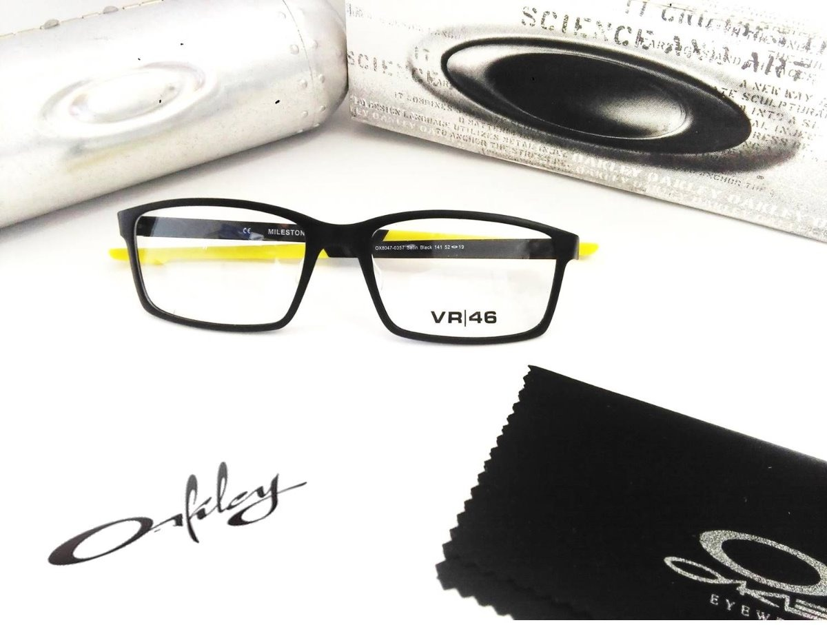 4b2c0f24bf Monturas Gafas Oakley Ref. Milestone Ox8047 - $ 125.000 en Mercado Libre