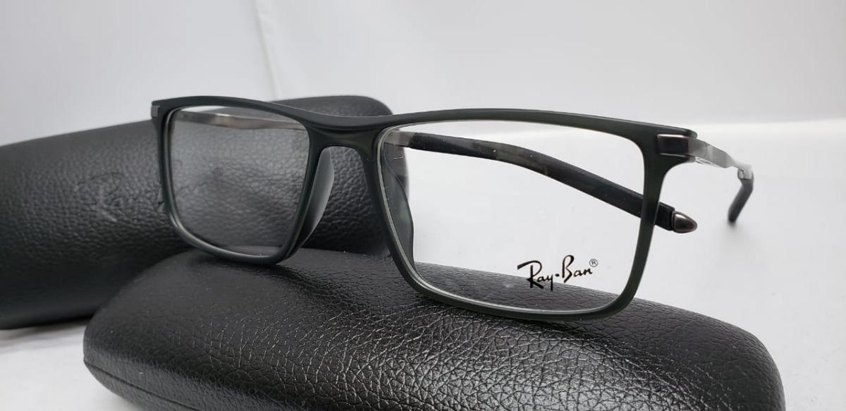 023d4960ec97c Monturas Gafas Rayban Cuadradas Negras Hombre Mujer -   119.900 en ...