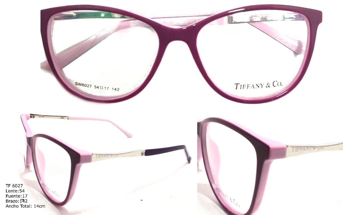 Monturas Lentes Marcos Gafas Para Mujer Tiffany & Co - $ 89.900 en ...