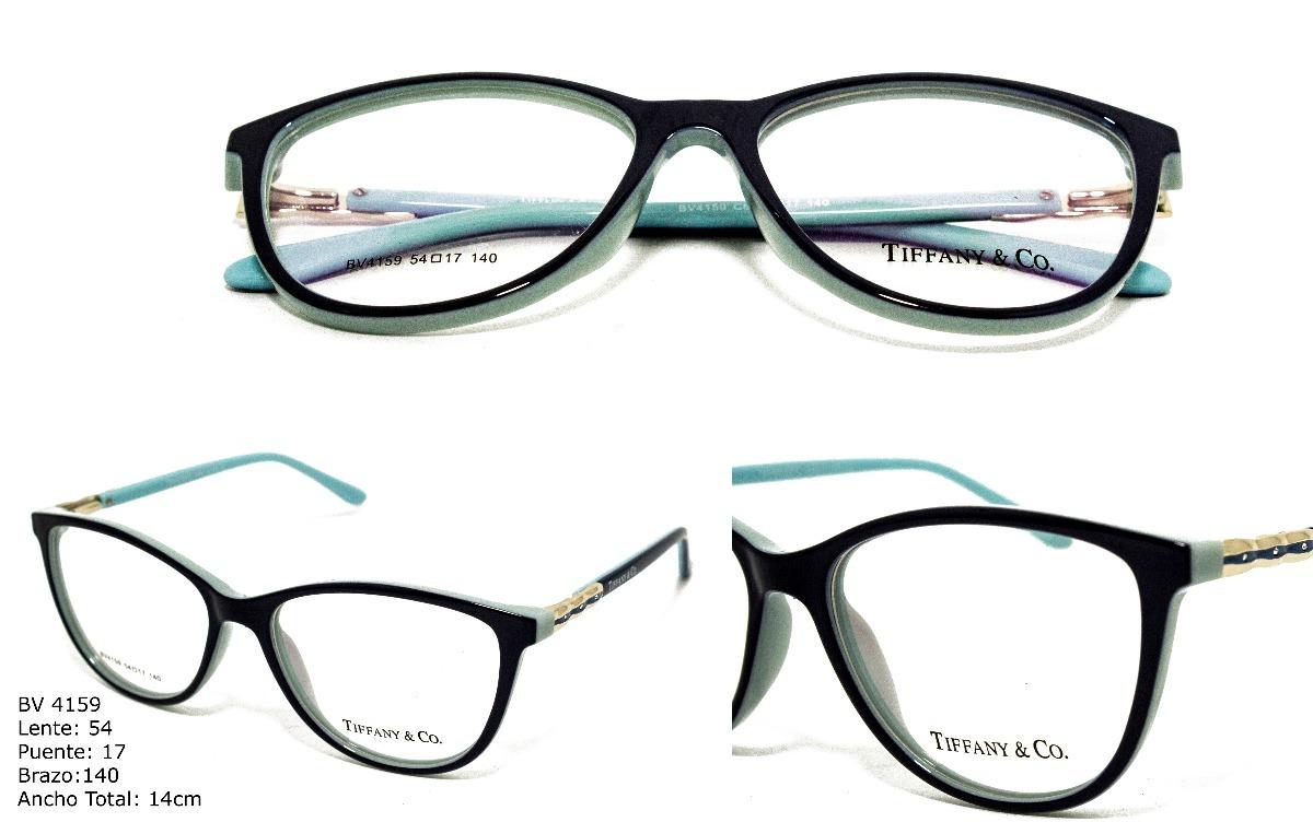 Monturas Lentes Marcos Gafas Para Mujer Tiffany & Co+envio ...