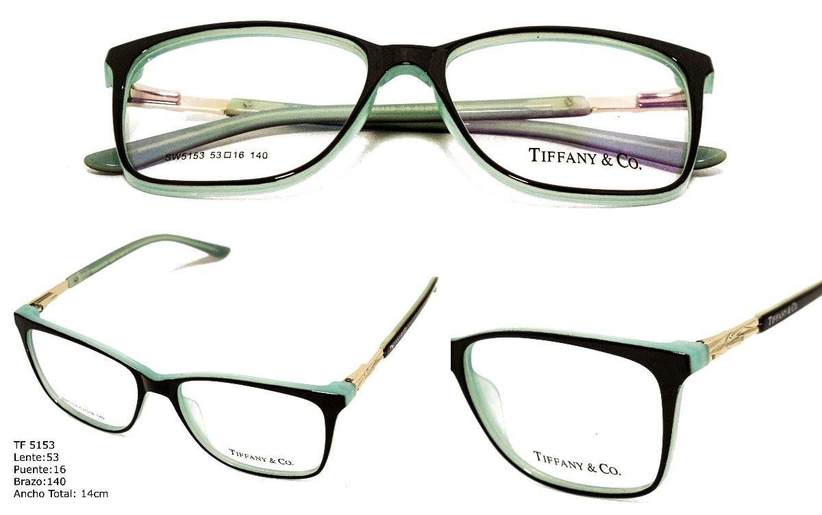 Monturas Lentes Marcos Gafas Para Mujer Tiffany & Co+envio G ...