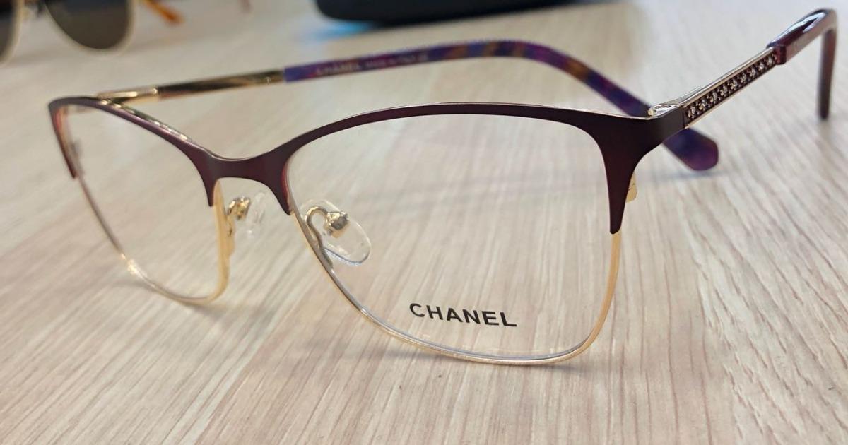 fc04d0c560 monturas marcos gafas chanel cuadradas mujer medio lente. Cargando zoom.