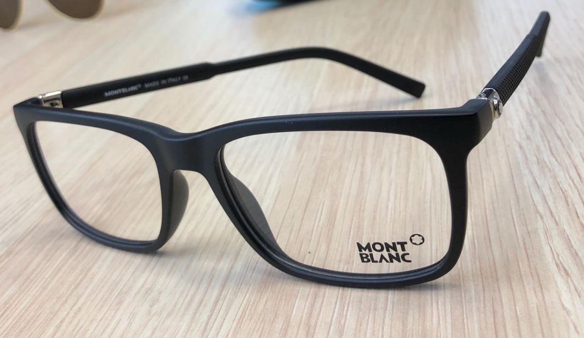 f13eac7a21 monturas marcos gafas montblanc negras hombre cuadradas. Cargando zoom.