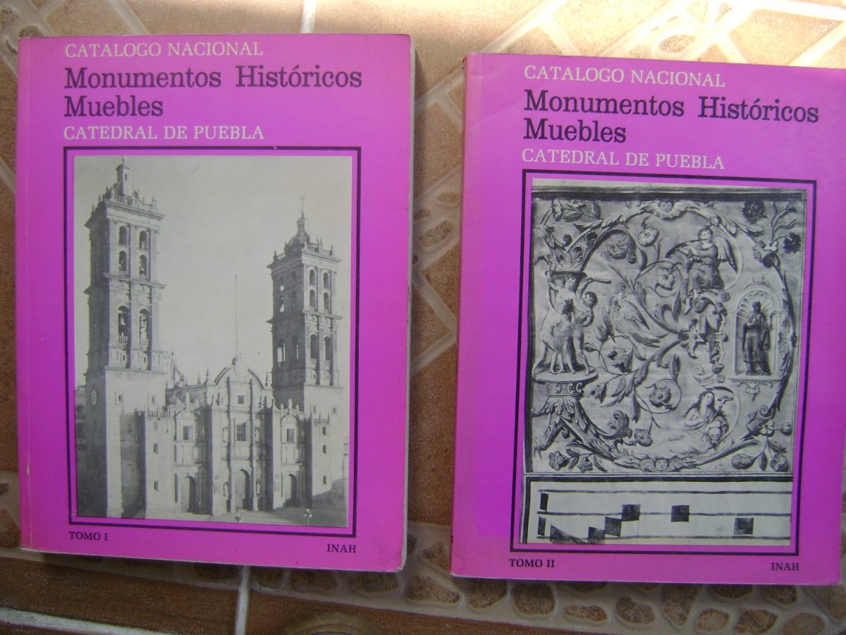 Monumentos Historicos Muebles Catedral De Puebla 2 Tomos  # Muebles Historicos