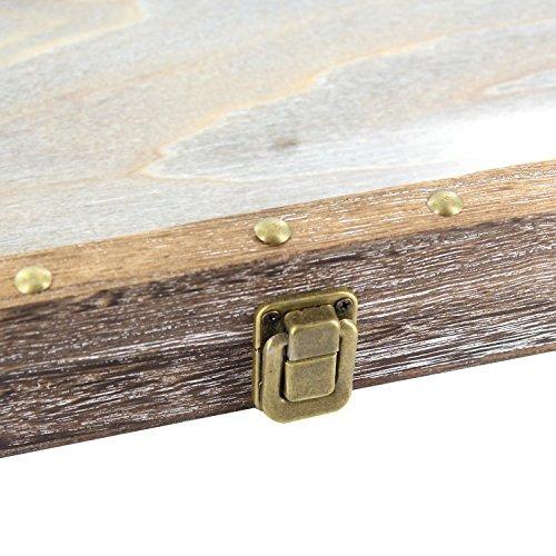 mooca vitrina de madera moderada grande natural de la joy...