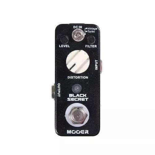 mooer black secret vintage distortion pedalera sound group