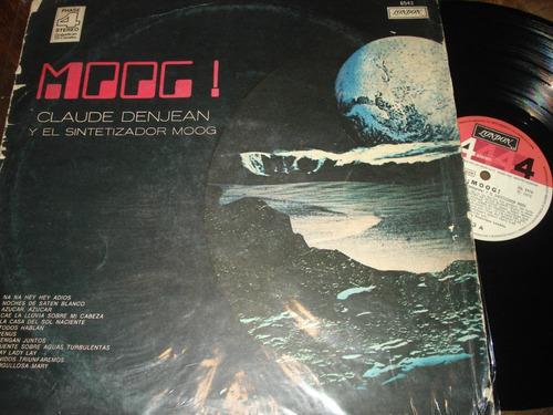 moog! - claude denjean y su sintetizador moog lp arg g/vg