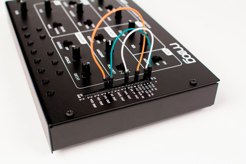 moog werkstatt sintetizador análogo diy arduino audiotecna