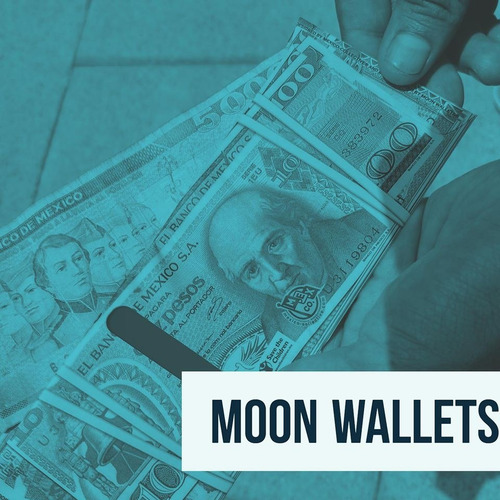 moon wallet - sinaloa - cartera de papel