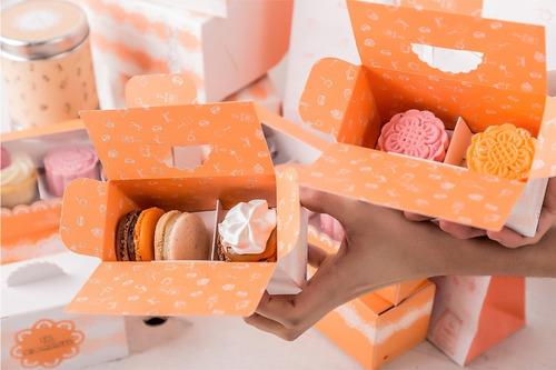mooncakes - pastelería china (caja de 6 surtidos)