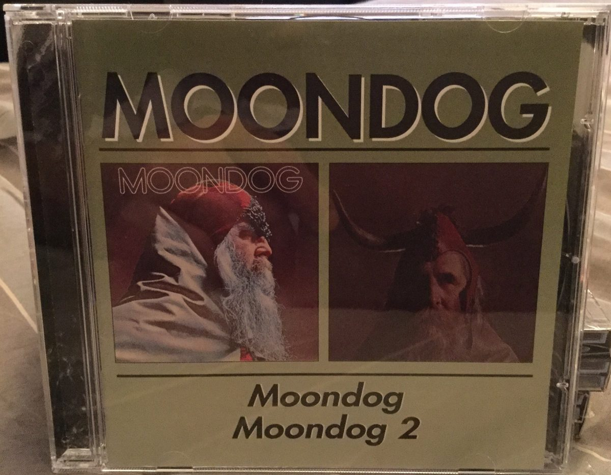 Moondog - Moondog/moondog 2 Albums En 1 Cd Sello Bgo - $ 340,00