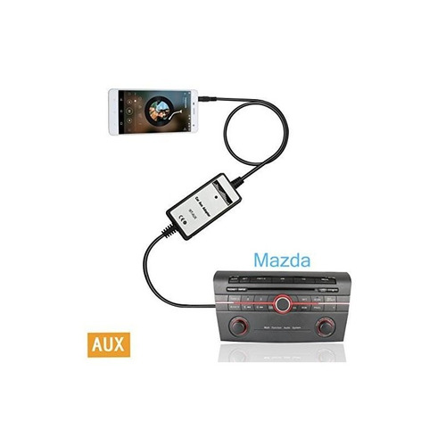 moonet mazda ipod iphone adaptador de coche kit de integraci
