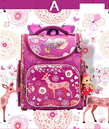 bdf4cbad91 Moonwind Kids Mochilas Para Niñas Bolsas De Libros De La Es ...