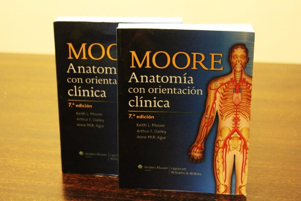 Moore Anatomía Con Orientación Clínica 7a Edición (2 Tomos ...