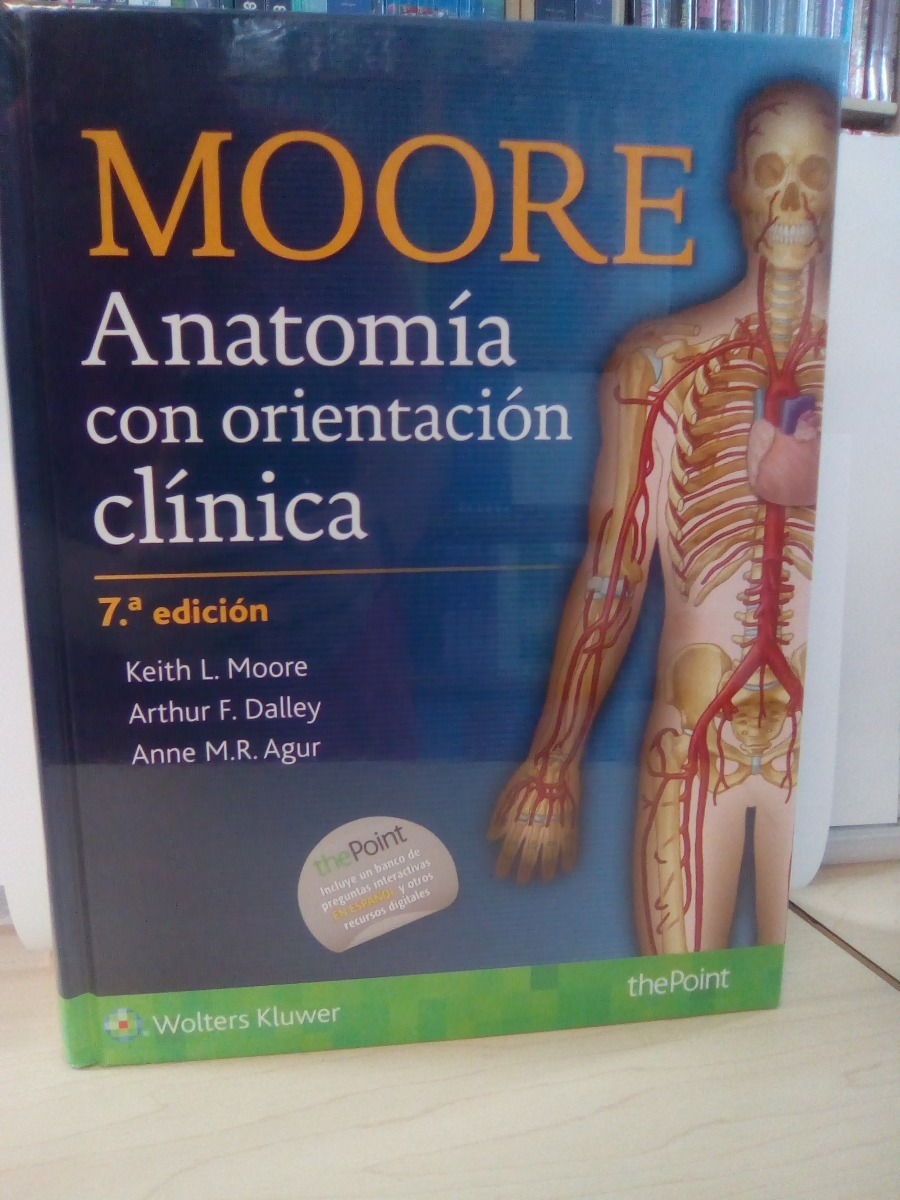 Moore, Anatomía Con Orientación Clínica 7ed Nuevos - $ 860.00 en ...