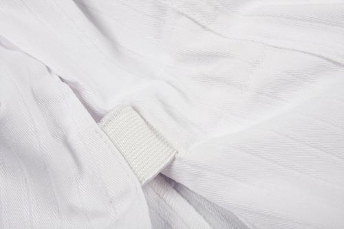 mooto taekwondo dobok uniforme 3f mujer slim fit