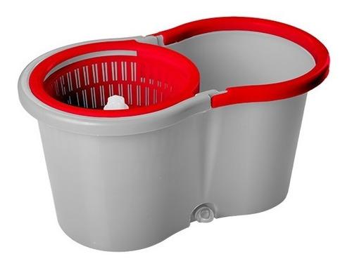 mop giratório esfregão 14l limpeza fw06944 wap + refil extra
