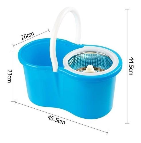 mop microfibra trapeador magico acero exprimidor spin 360°