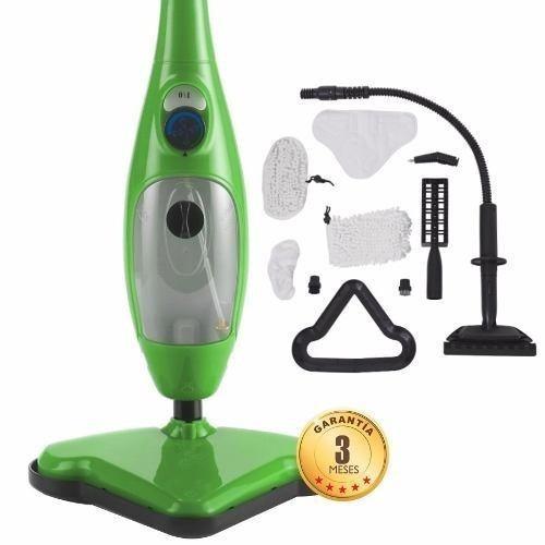 mopa a vapor multifuncional 5 en 1 con 10 accesorios