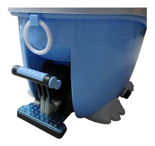 mopa con centrifugado tambor acero c/pedal + repuesto regalo