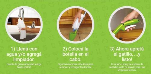 mopa microfibra para pisos repuesto para virulana spray mopy