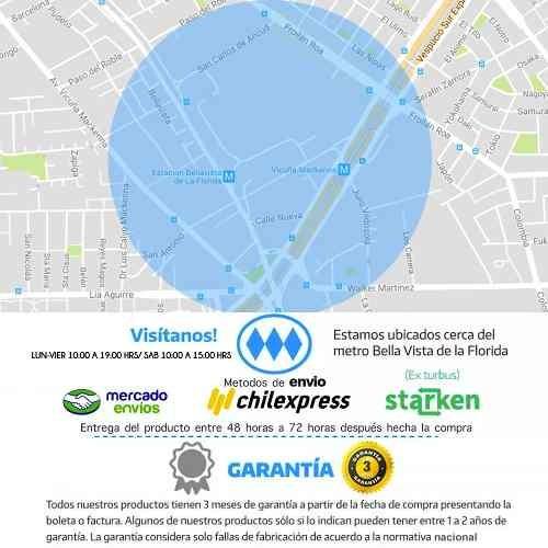 mopa trapeador giratoria 360 + 2 paños azul/ onlineclub