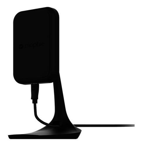 mophie cargador y soporte de escritorio para iphone negro