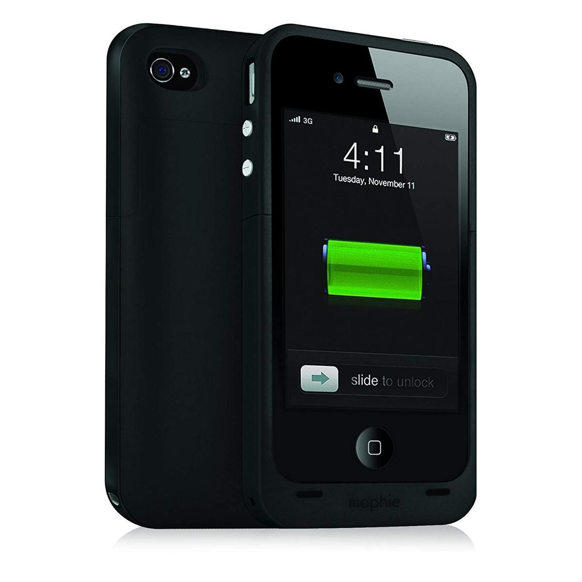 bf3ad255b4b Mophie Jugo Paquete - Más Funda Batería Para iPhone 4 / 4s ...