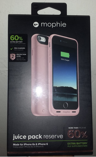 mophie juice pack reserve pink