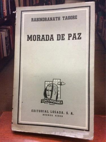 morada de paz - rabindranath tagore. novela.