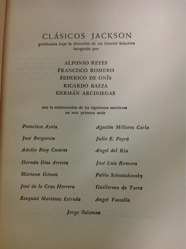 moralistas castellanos/ colección clasicos jackson