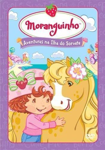 moranguinho - aventuras na ilha do sorvete - dvd