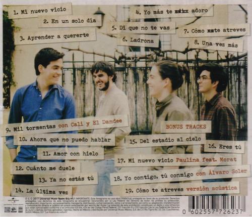 morat sobre el amor y sus efectos secundarios ed especial cd