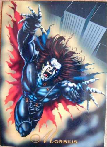 morbius / marvel comics pepsi cards 21 / tarjeta