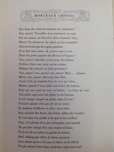 morceaux choisis. french literary gems. francés.