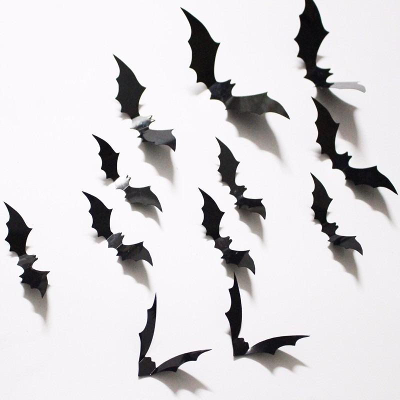 Aparador Para Sala De Estar Com Vidro ~ Morcegos Batman Herois 3d Adesivo Cola Parede Decorar Bolo R$ 5,99 em Mercado Livre