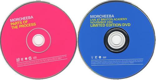 morcheeba ~ parts of the process [bonus dvd] (2003)