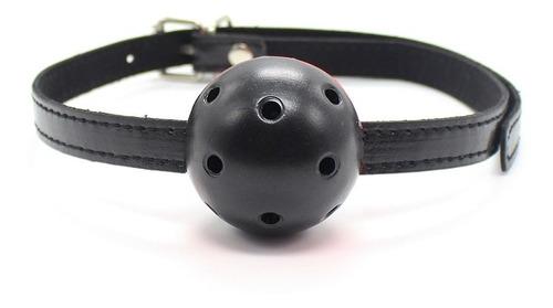 mordaza | bdsm | negro-negro / negro-rojo | 65cm | tasa 0