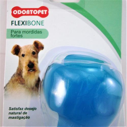 mordedor canino p/ cachorro flexibone big mordida forte 22kg