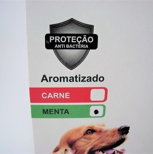 mordedor flexi tronco odontopet mordida forte cães até 15kg