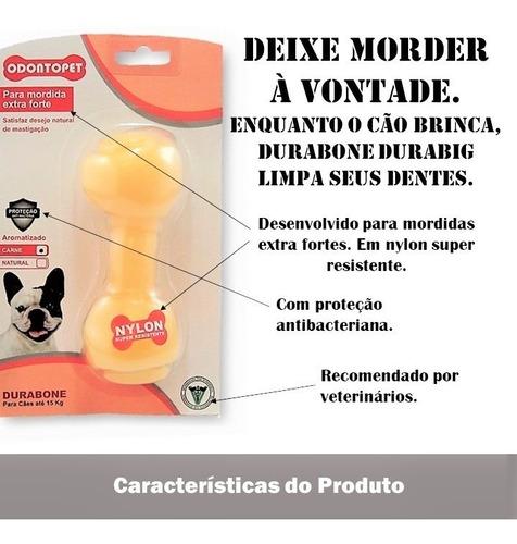 mordedor nylon durabone big mordida extraforte cachorro até 15 kg