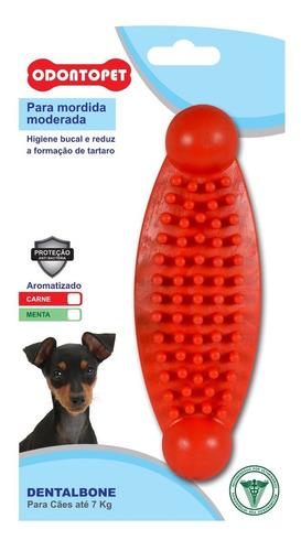 mordedor p/ cachorro dentalbone mordida moderada até 7 kg