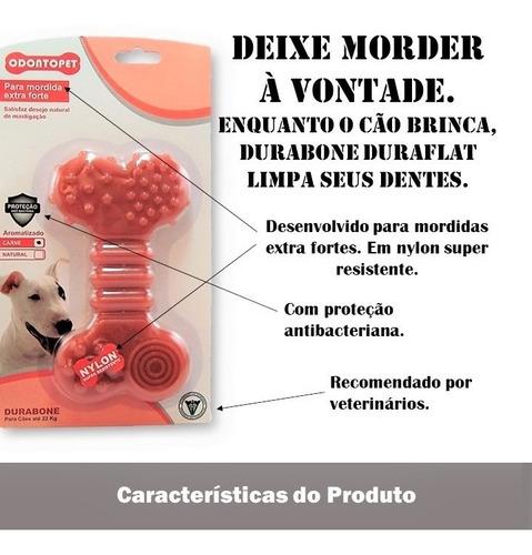mordedor p/ cachorro durabone nylon  mordida extra forte até 22kg