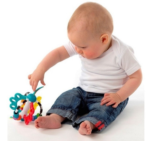 mordillo sonajero bebé explor a ball playgro