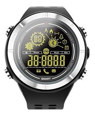 Morefine Digital Con Bluetooth Cronómetro Podómetro Reloj TK315lJucF