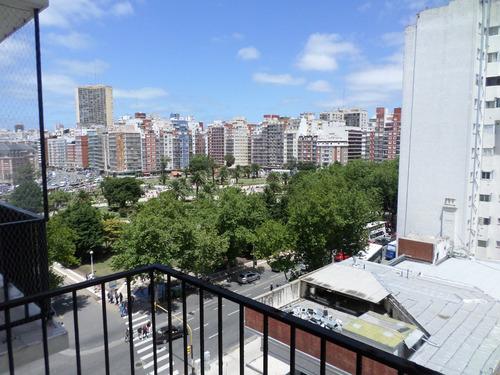 moreno 2129 - apto credito - 1 ambiente externo con balcon reciclado.