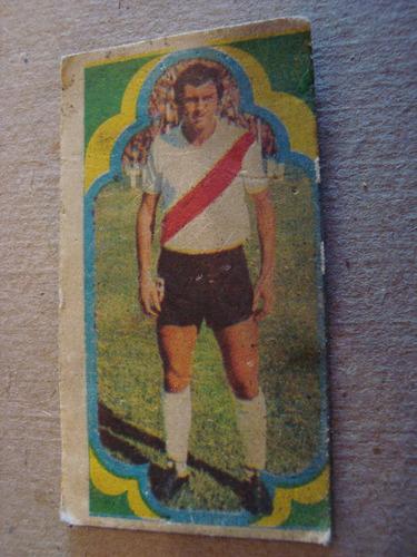 morete 24 river figurita album estampa jugador 1975