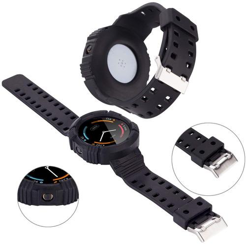 moretek silicona reloj banda correa reemplazo pulsera para m