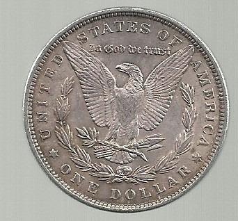 morgan 1 dolar plata 1889